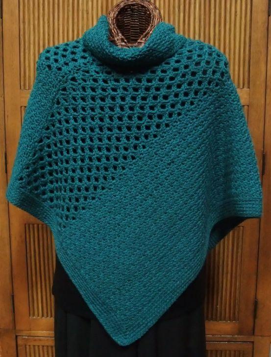 cute crochet poncho pattern