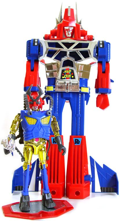 Microman Punch Robo Via Microforever Japanese ToysAction