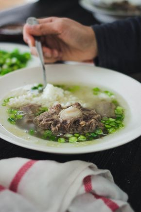 Mom's Korean Oxtail Soup-Kkorigomtang recipe | by fit for the soul