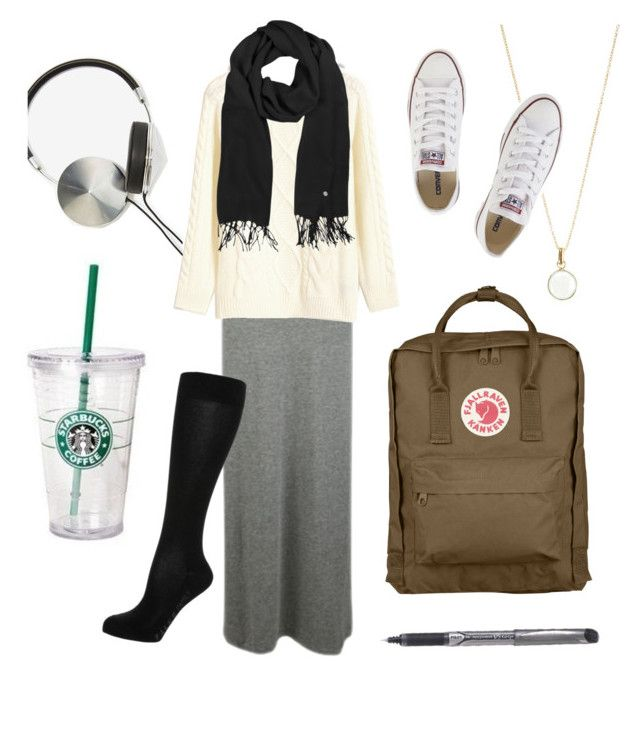 """""""Casual Travel Outfit"""" by memorycloset ❤ liked on Polyvore featuring Vero Moda, Fjällräven, Frends, Retrò, Mila Schön, Converse, Accessorize, Falke, women's clothing and women"""