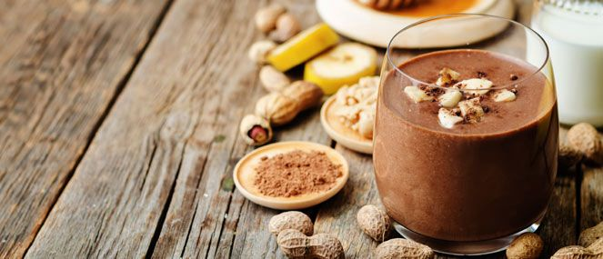 Kids fussy at breakfast? A quick cacao and banana smoothie will help give them a nutritious start to the day with the added benefit of prebiotics and probiotics.