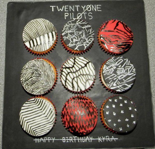 Pictures Of Twenty One Pilot Birthday Cakes