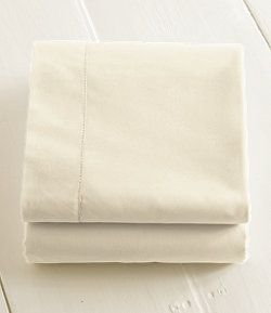 "#LLBean: 280-Thread-Count Pima Cotton Percale Sheet, Fitted. These are apparently some of ""the best"" sheets."