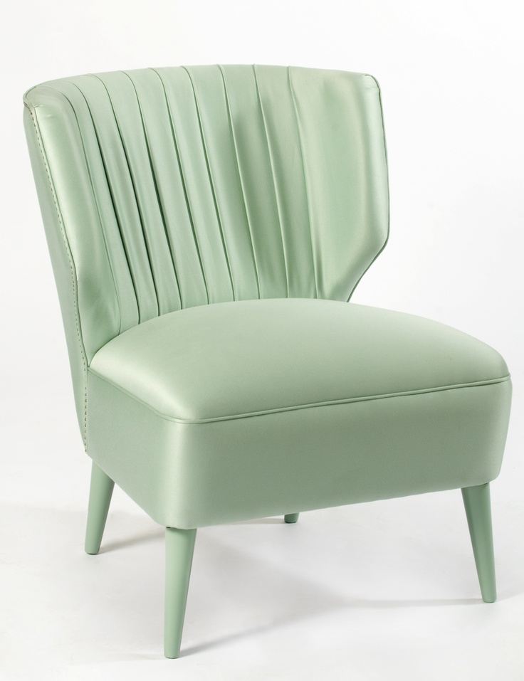 Lipstick Armchair | Art Deco inspired cocktail lounge armchair. Modern design deco style in combination with the attributes of feminine elegance and sophisticated details.