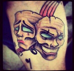 Bipolar tattoo.