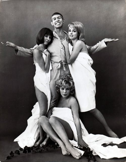 "Promotional still for ""Our Man Flint"" (1966) starring James Coburn"