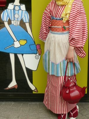 Japanese Modern Kimono Kawaii Fashion