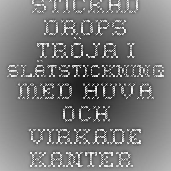 """Stickad DROPS tröja i slätstickning med huva och virkade kanter i 1 tråd """"Paris"""" eller 2 trådar """"Alpaca"""". Stl S-XXXL. ~ DROPS Design"""