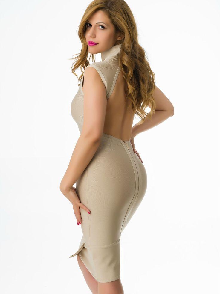 Vestido Bandage Color Nude VB246