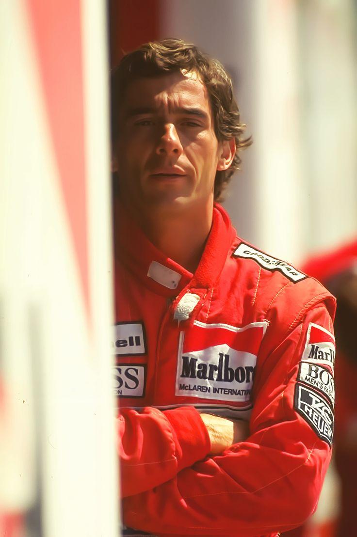 scuderia-f1:  Ayrton Senna. Gorgeous...sigh...