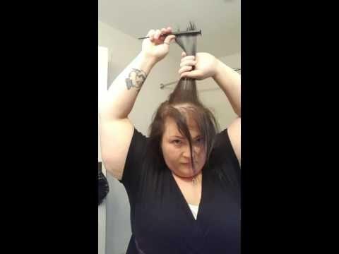 Thin hair magic! Disguise thin and balding hair. - YouTube