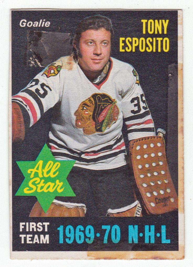 Tony Esposito # 234 - 1970-71 O-Pee-Chee Hockey