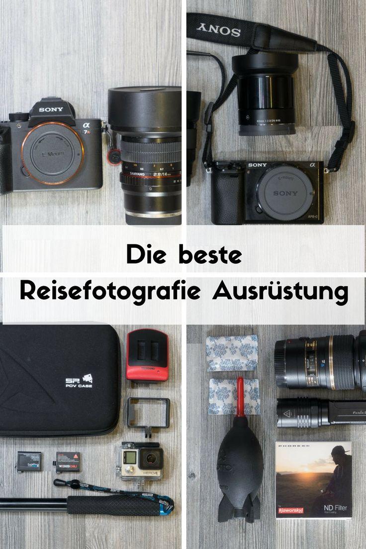Das ist die ultimative Reisefotografie Ausrüstung für bessere Fotos. Hier gibt's Tipps für Tierfotografie, Unterwasserfotografie, Landschaftsfotografie und für Street Art. #reisefotografie #fotografie #equipment