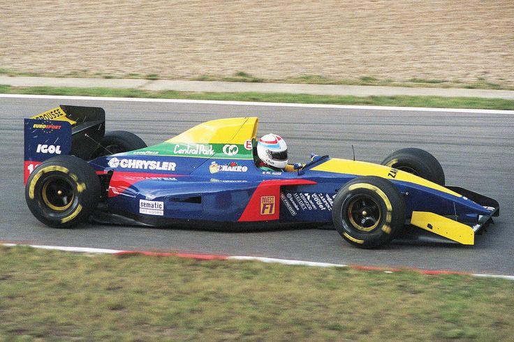 1993 GP Belgii (Spa Francorchamps) Larrousse LH93 - Lamborghini (Philippe…