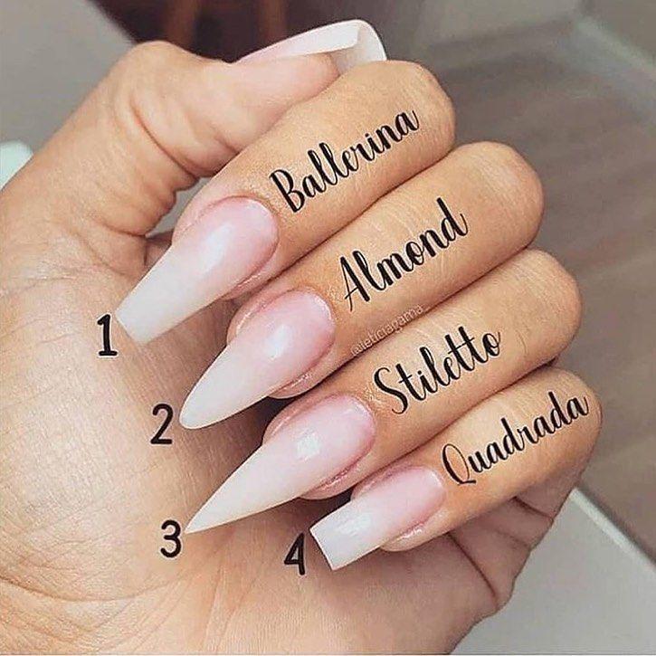 1 4 Nails Nails Kennzeichnen Sie Ihre Freunde Anails Freunde Ihre Kennzeichnen Nai Nail Shapes Acrylic Nail Shapes Pretty Acrylic Nails