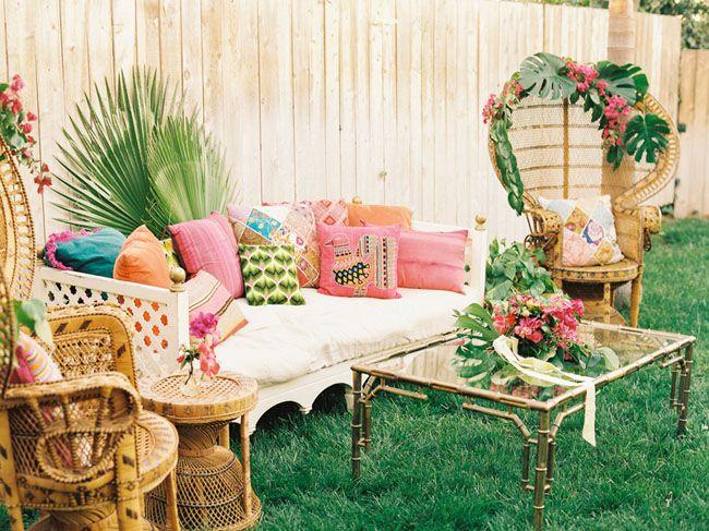 {Inspiration} Une décoration de Mariage Tropical