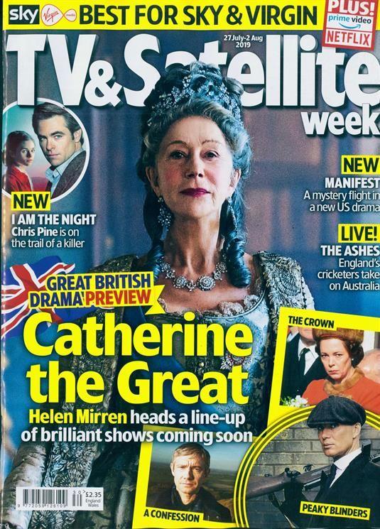 Tv & Satellite Week Magazine Subscription Buy at