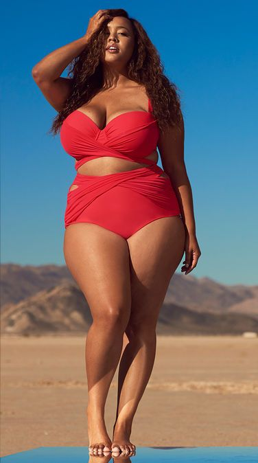 GabiFresh Swimswear - Plus Size Swimsuit