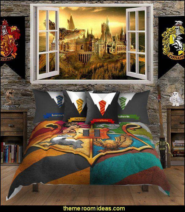 Harry Potter Themed Bedrooms Harry Potter Bedroom Decor Harry
