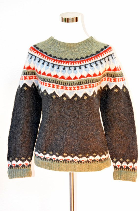 Fair Isle Knit Pullover Sweater Women's Size by MayfairMarketplace