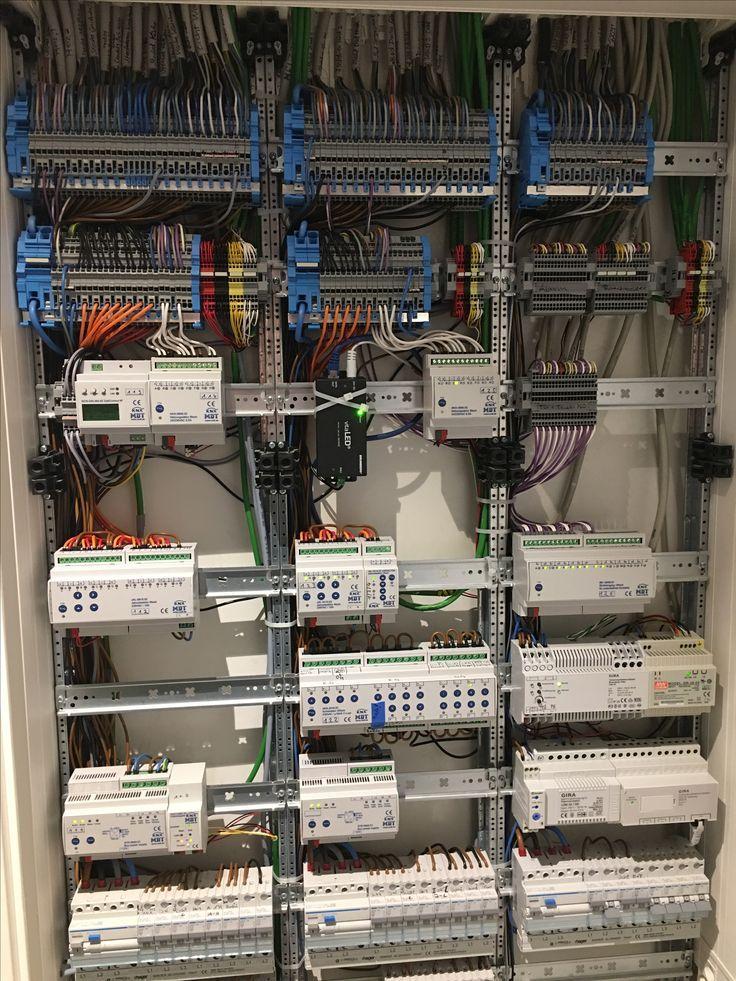 smart home wiring elektro verteilerschrank mit knx bussystem bussystem smart home wiring diagram pdf elektro verteilerschrank mit knx
