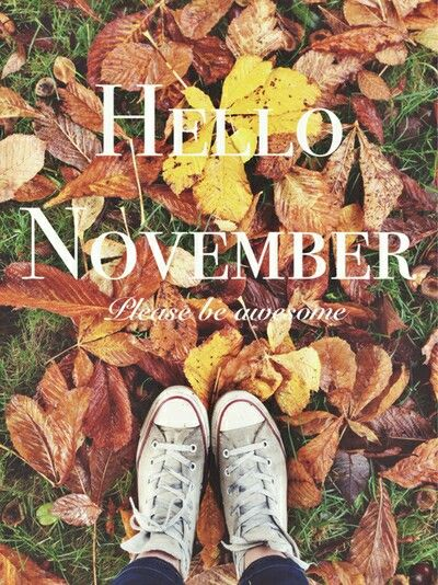 Hello November Please Be Awesome November Hello November November Quotes Hello  November Quotes November Be Good