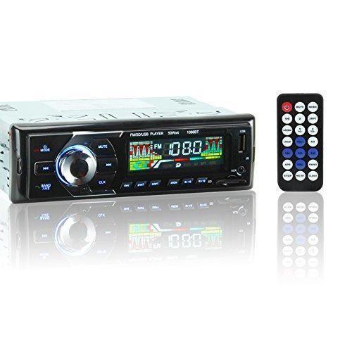 Oferta: 26.99€ Dto: -33%. Comprar Ofertas de KYG Auto Radio Coche Bluetooth Estéreo AM FM In-Dash USB SD Reproductor Audio MP3 WMA WAV Pantalla LCD DC12V barato. ¡Mira las ofertas!