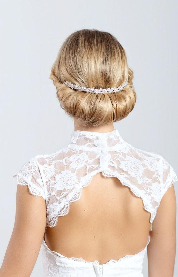 76 best Wedding Hairstyles images on Pinterest | Bridal hairstyles ...
