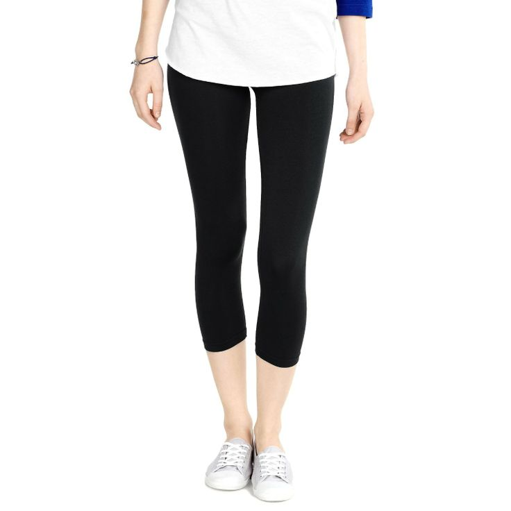 D&K Women's Seamless Capri Leggings           ($3.50) http://www.amazon.com/exec/obidos/ASIN/B00DYIQ8E2/hpb2-20/ASIN/B00DYIQ8E2 Overall a good length & fit. - Wore them once and they got a big run on them, there are also little holes at the seams around the ankle. - These are great leggings for wearing under short dresses or long shirts.
