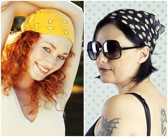 Cute and Easy Bandana Hairstyles for Quick Hair