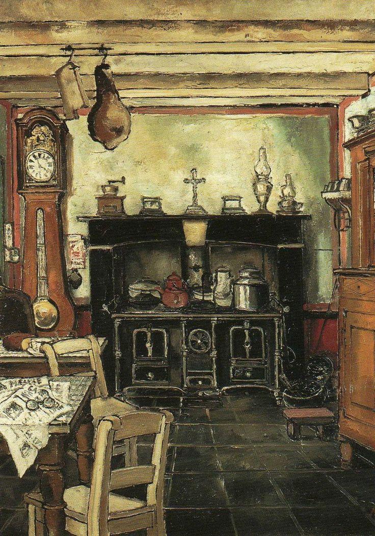 PAUL DELVAUX The Kitchen (1932)