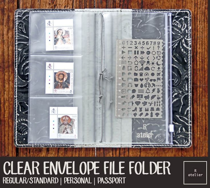This listing is for PACK OF 3 Clear PVC File Folders at reasonable price!