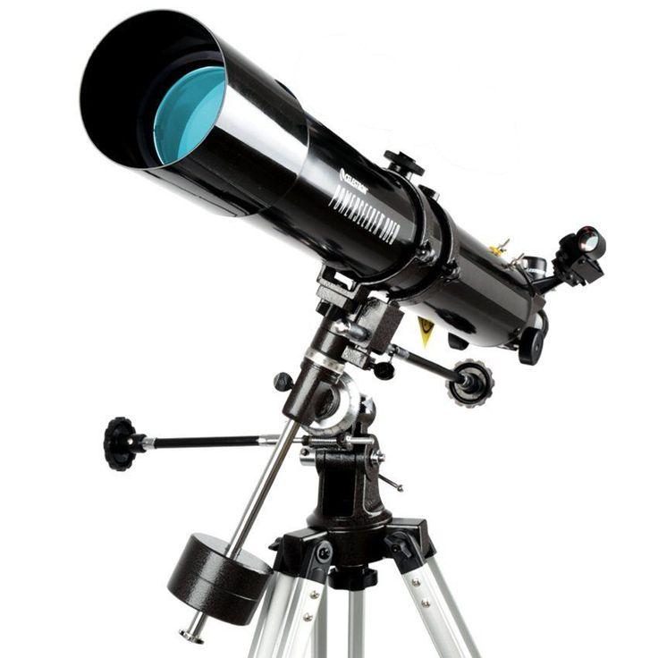 Telescope PowerSeeker 80EQ Celestron Tripod Astromaster Reflector Refractor Mead #TelescopePowerSeekerUS