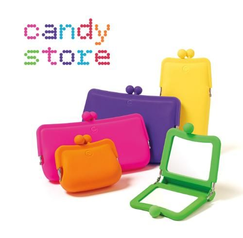 candy store cosmetic bags ,