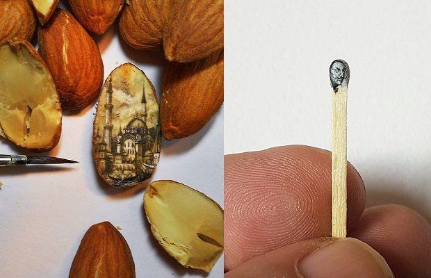 Ustalığı Detaylarda Saklı Ressam Hasan Kale ve Dünyanın En Minik Sanat Eserleri
