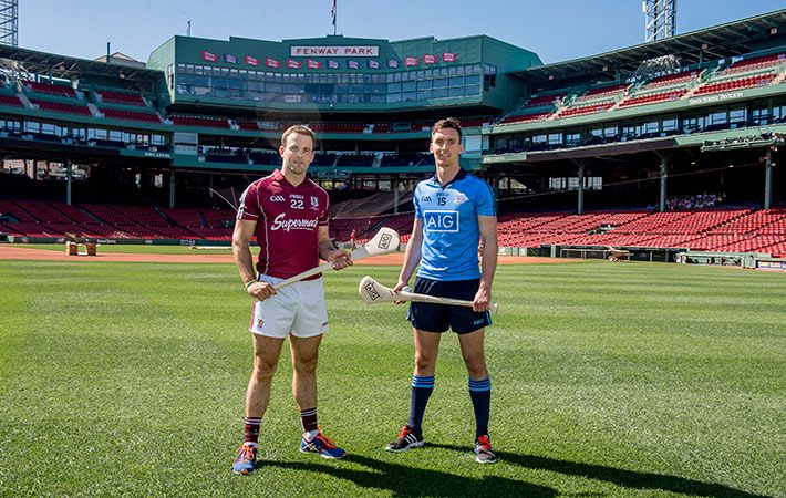 At this weekend's Fenway Hurling Classic, Galway and Dublin will play a new kind of game in the home of the Red Sox.