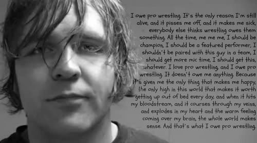 I owe pro wrestling - Jon Moxley ❤