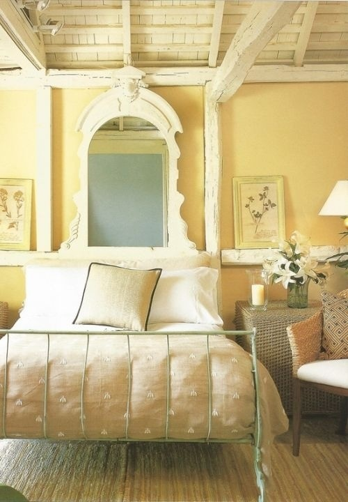 Yellow walls my future little cottage pinterest for I want to decorate my bedroom