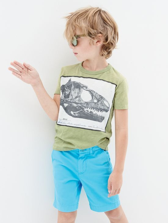 J.Crew boys crewcuts for the American Museum of Natural History dino skull tee. To preorder call 800 261 7422 or email verypersonalstylist@jcrew.com.