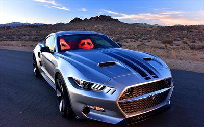 壁紙をダウンロードする フォードマスタング, チューニング, 2016年, galpin自動車