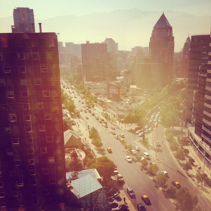 #Santiago #Chile #Spring #Sanhattan #travel #viajes #primavera