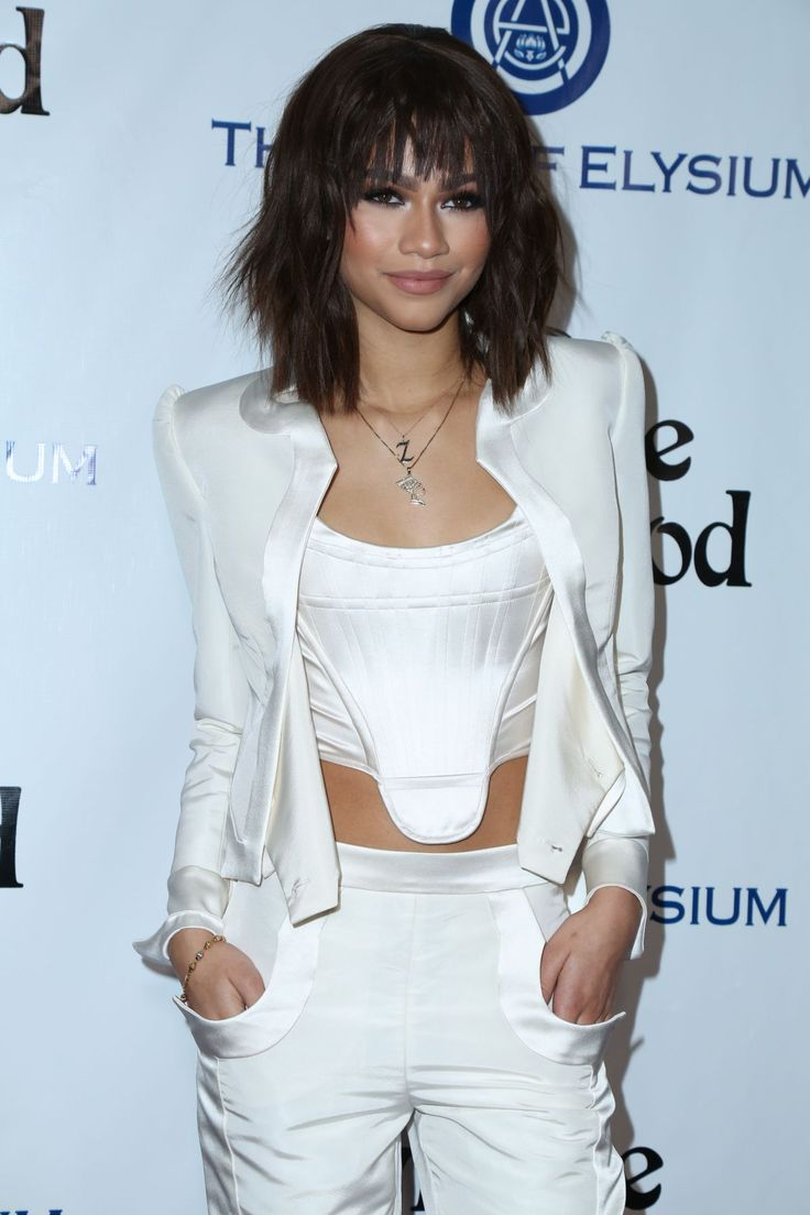 zendaya 2016 | Zendaya At The Art of Elysium 2016 HEAVEN Gala - Celebzz - Celebzz