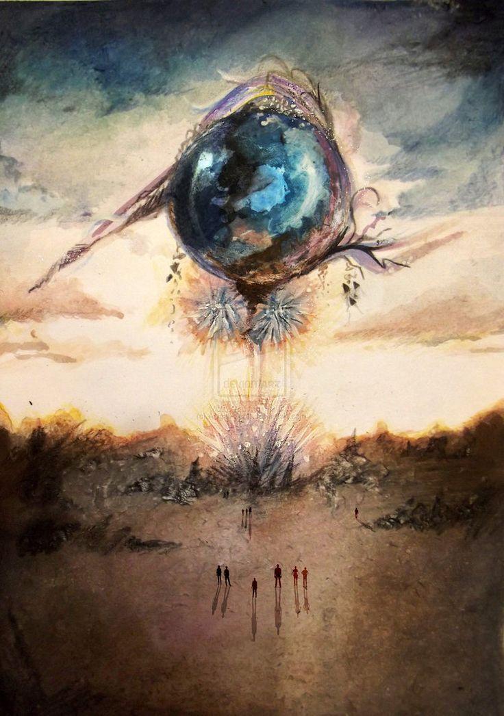 Final Fantasy XIII - The Cocoon (by Abigail-Scott @deviantART)