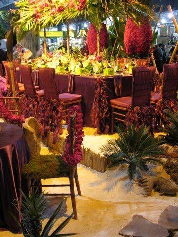Tropical Party Decorating Ideas | Decorate a Table for your Tiki Party