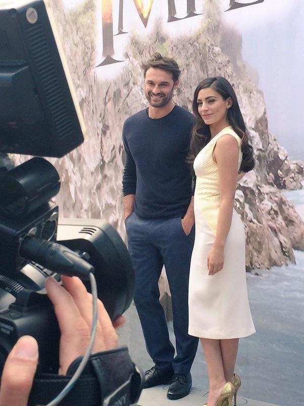 Ivan Sanchez (Martin Santelmo) e Ana Brenda Contreras (Verónica Prado Castelo) en la nueva novela Lo Imperdonable.