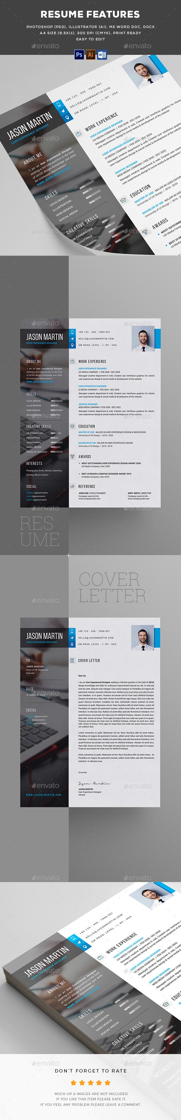103 best CV images on Pinterest | Cv template, Resume templates and ...