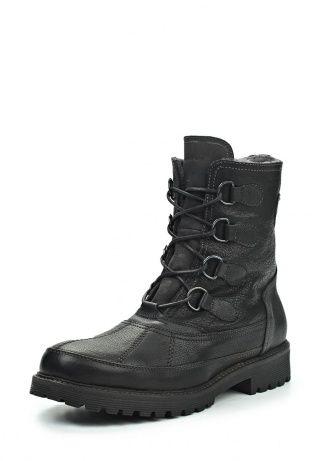 Ботинки черного цвета от Marc O'Polo - это актуальный выбор для зимнего сезона. Модель создана из натуральной кожи. Изнутри изделие утеплено натуральным мехом. Высокая шнуровка обеспечивает индивидуальную посадку по ноге. http://j.mp/1rEXVcn