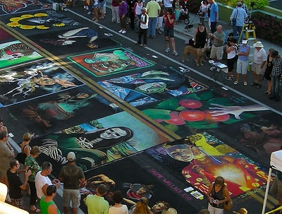 2011 Sarasota Chalk Festival - I foresee a trip to Florida in November 2012.
