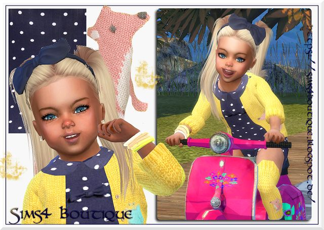 Sims 4 CC's - The Best: Clothing for Toddlers by Sims4 Boutique
