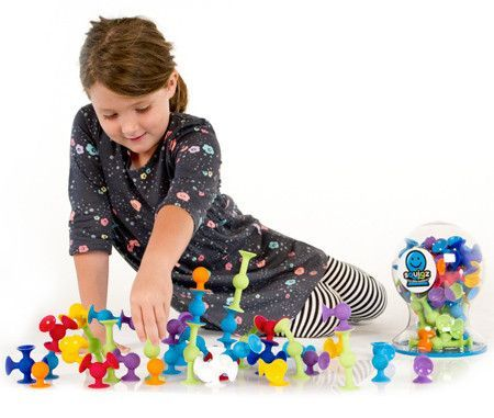 Fat Brain Toy Co. - Squigz Starter Set